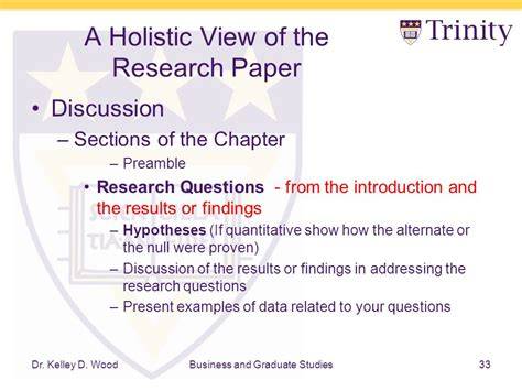 how to present a research paper research rescue lab a holistic view of the research paper