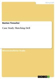 pattern matching analysis case study titel case study matching dell