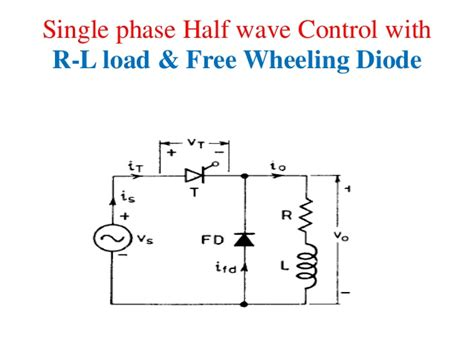 why we use free wheeling diode free wheeling diode inductive load 28 images 1 phase half wave rectifier circuit using scr