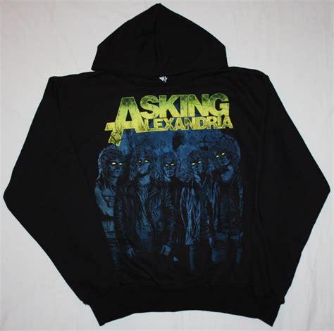 Hoodie Asking Alexandria Family asking alexandria can t help metalcore alesana hoodie new black sweatshirt ebay