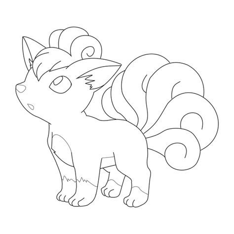 vulpix coloring pages related keywords vulpix coloring