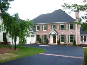 brick colonial house plans beautiful colonial colonial house plan alp 096p