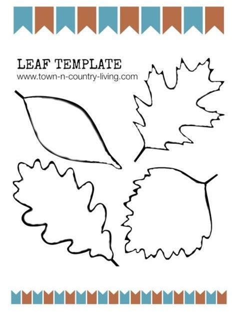 leaf place card template free 10 best images about leaf templates on