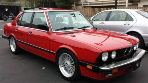 1987 Bmw 535is Find Used 1987 Bmw 535is In San Jose California United