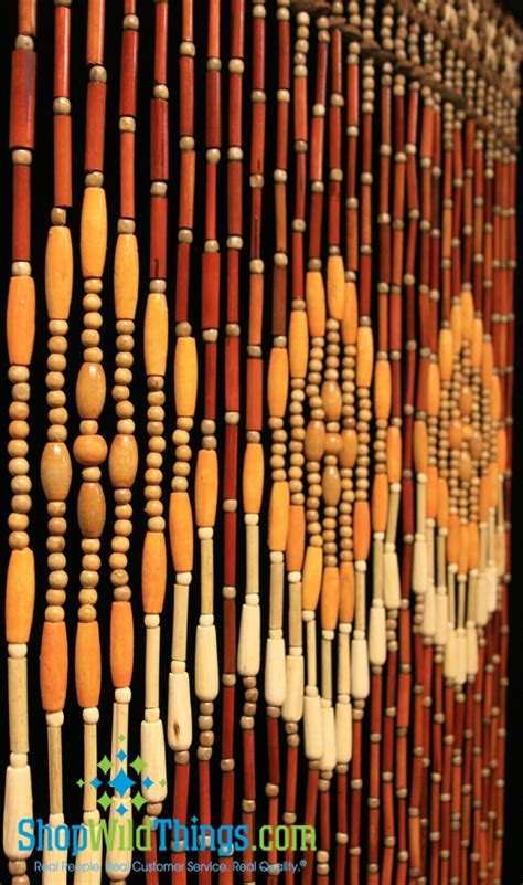 wooden beaded curtain pin by kari bowsher on party ideas pinterest