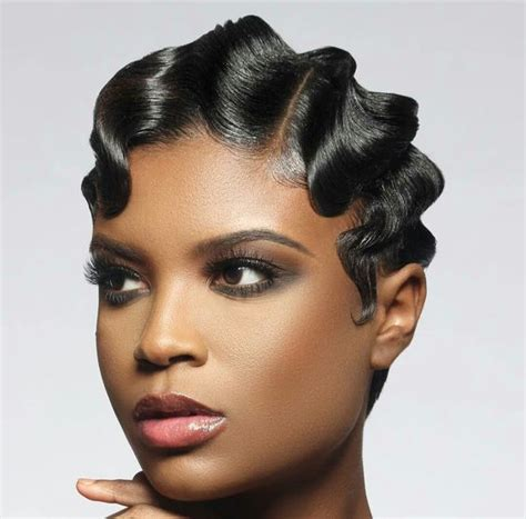 Finger Waves Black Hairstyles Pictures by 30 Glamorous Finger Wave Styles For Any Hair Length