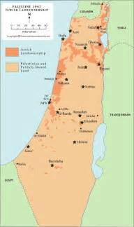 owned land in palestine as of 1947 palestine