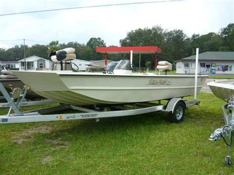 seaark boat for sale seaark 2072 aluminum fish boats for sale boats