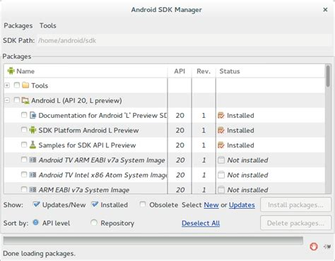 android sdk 23 file android sdk manager 23 android l preview png wikimedia commons