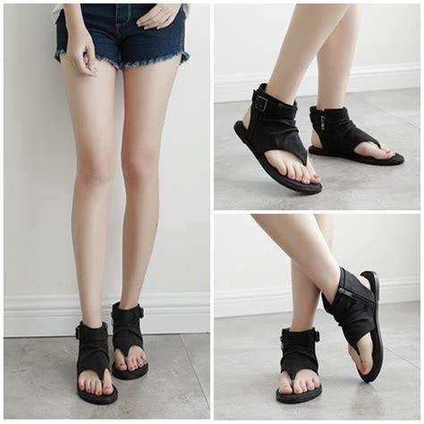 Sepatu Lincon 212 Flatshoes jual shf1881 black flat shoes elegan grosirimpor
