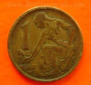 Koin One Cent Tahun 1968 1962 czechoslovakia 1 koruna coin koin dari negara