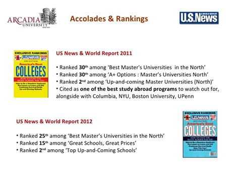 Arcadia Mba Accreditation by Top Ranked Us Mba From Arcadia Pennsylvania In