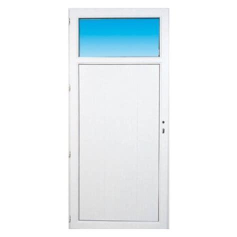 porte de 90 cm porte de service pvc occulus gauche 215 x 90 cm materiauxnet