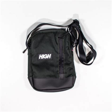 Zip Mini Shoulder Bag mini shoulder bag high side zip logo bg005 03 green