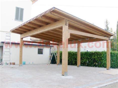 tettoie legno immagini tettoie in legno