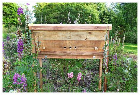 pallet wood topbar beehive enchanted living arts