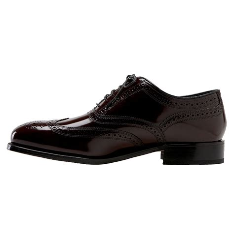 florsheim oxford shoes florsheim wing tip oxford shoes in purple for