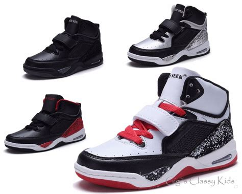 top youth basketball shoes new boys high top sneakers tennis shoes basketball