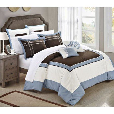 chic home ballroom 7 piece comforter set king size bed in
