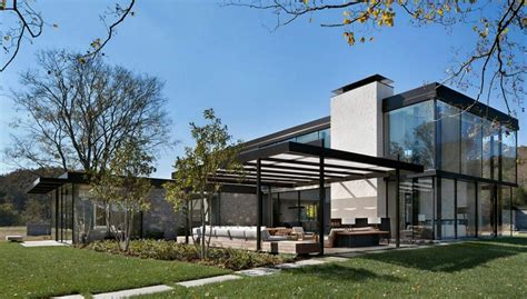 Modern Living Spaces Fachadas De Casas Modernas