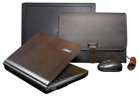 A Girly Laptop In Leather By Asus by Asus W6 And S6 Laptops Draped In Leather