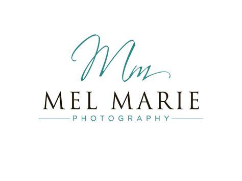 design a logo photography logo design for mel marie photography by cherry pop design