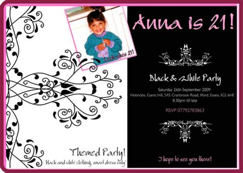 21st birthday invitation templates free 21st birthday