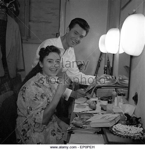 caterina valente bruder entertainerin stock photos entertainerin stock images
