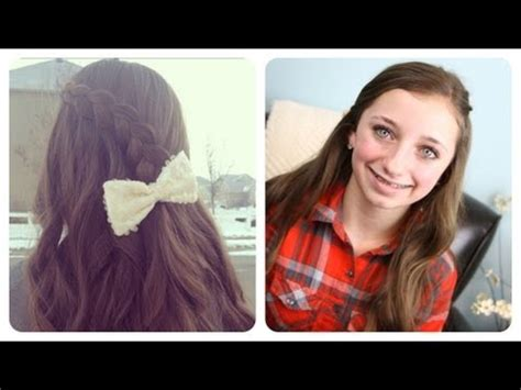 hairstyles youtube channel pancake lace braid by brooklynandbailey cute girls