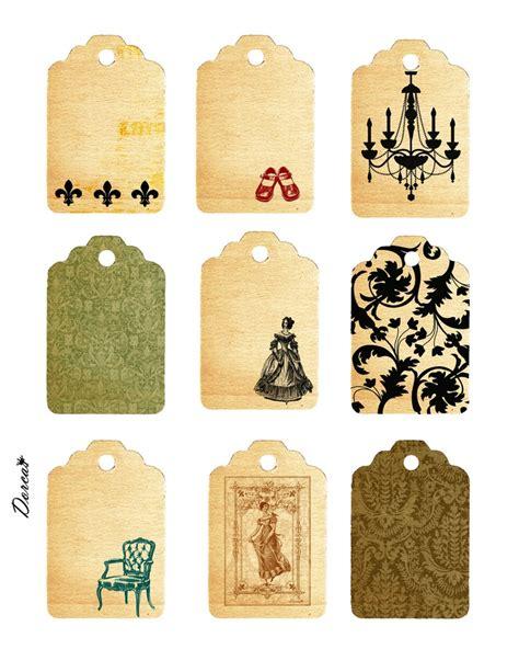 printable vintage tags free free printables vintage label and tags resources