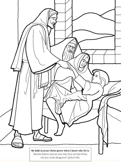 coloring pages jesus heals free christian pictures and jesus images coloring