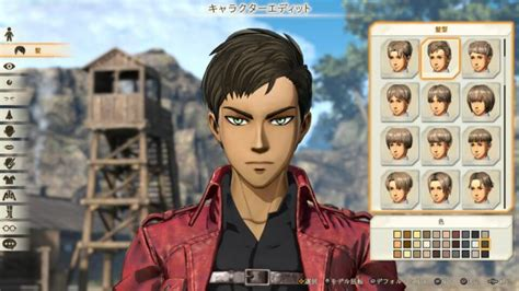 i ll be there characters character creation showing 1 attack on titan 2 gets new screenshots showing custom