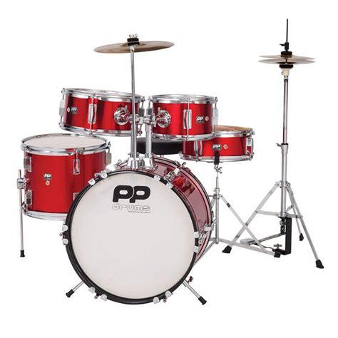 drum with acoustic drum kits pp drums junior 5 drum kit