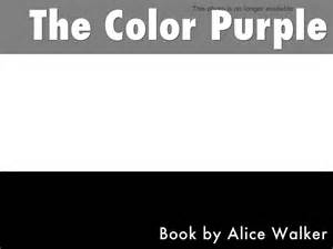 the color purple book summary the color purple by pilarohare3