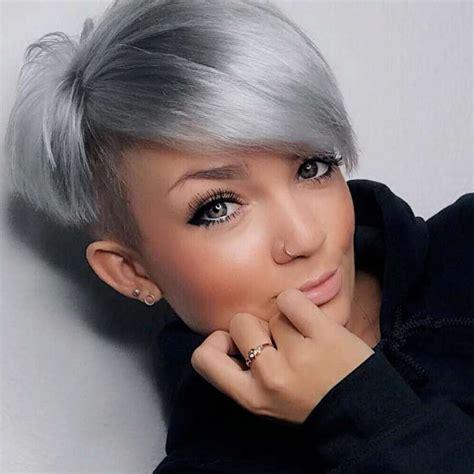 short hairstyle 2018 maquillaje y peinados pinterest short hairstyle 2018 hair cuts pinterest pelo gris