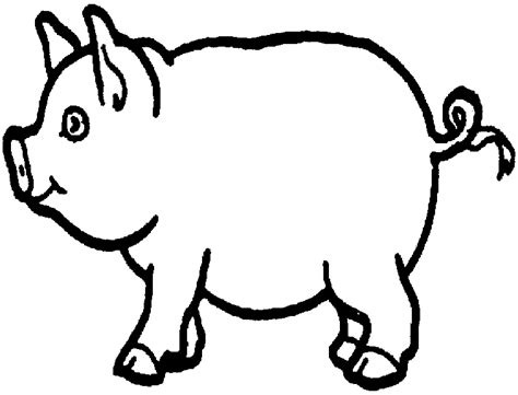 Pig Coloring Pages by Pig Coloring Pages Coloringpages1001