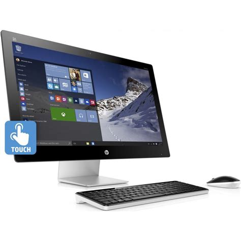 Hp Desk Computers Hp 27 Quot Pavilion 27 N110 Multi Touch All In One M9z73aa Aba