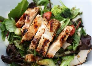 grilled chicken salad primal palate paleo recipes