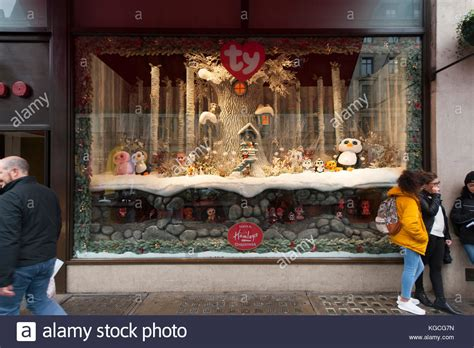 hamleys christmas window display stock photos hamleys