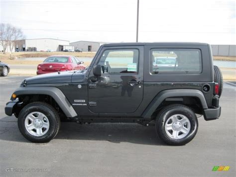 dark gray jeep wrangler 2010 dark charcoal pearl jeep wrangler sport 4x4 27169365