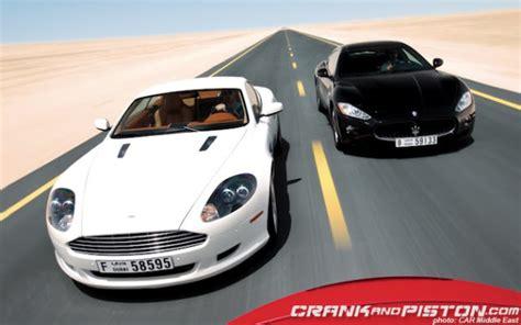 Aston Martin Vs Maserati by Jaguar Xkr Vs Aston Martin Db9 Vs Maserati Granturismo