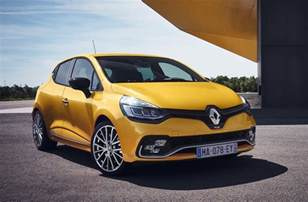 Renault Cliio 2017 Renault Clio R S Unveiled With Light Facelift
