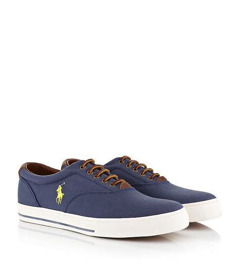 polo ralph oxford shoes polo ralph vaughn oxford shoe in blue for lyst