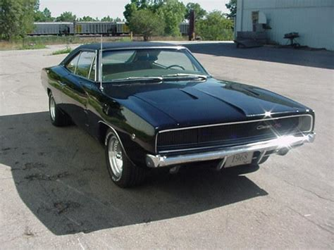 Sports Cars: 68 dodge charger