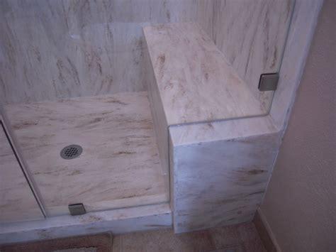 corian bench seamless corian shower bench