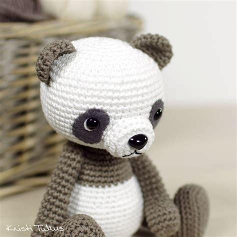amigurumi panda best 25 crochet panda ideas on crochet