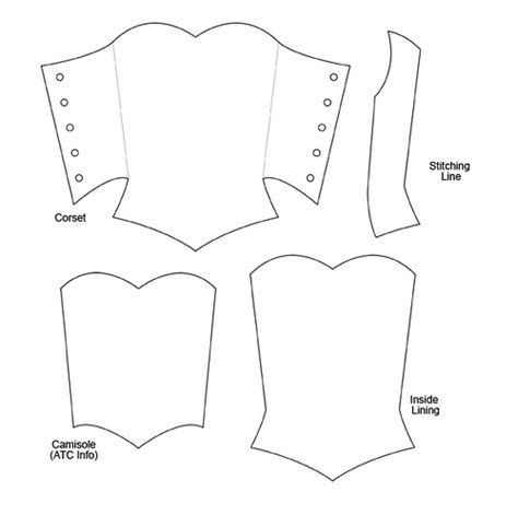 corset atc template corset atc template shared by atc