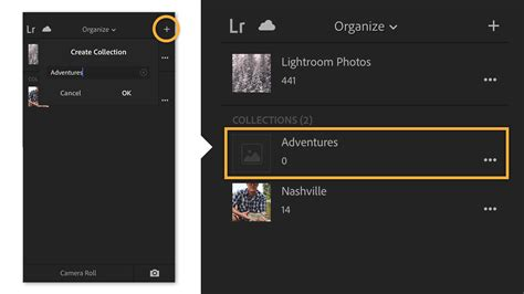 lightroom mobile android tutorial manage collections in lightroom for mobile adobe