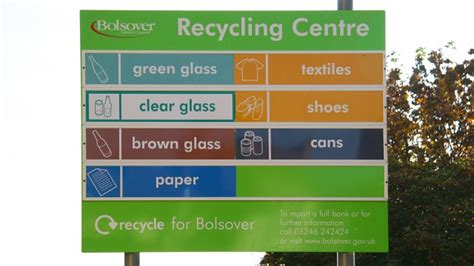 lincoln recycling centre sign for the recycling centre 169 alan walker geograph