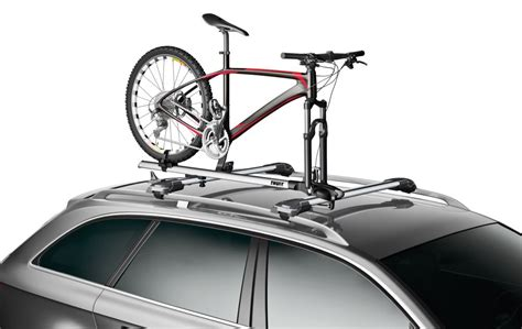 Best Bike Rack For Ford Focus by Ford Focus Thule Thruride Roof Bike Rack Thru Axle Mount Cl On Or Channel Mounted Aluminum
